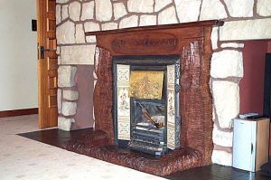 Ring of Brodgar Fire Surround