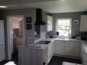 Open Plan Kitchen Fitted.