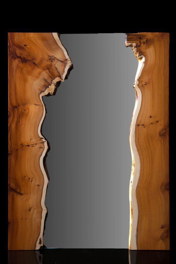 Yew Burr Mirrors