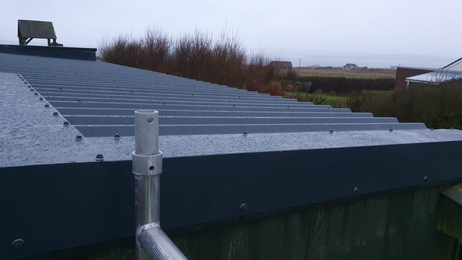 New Box profile Roof