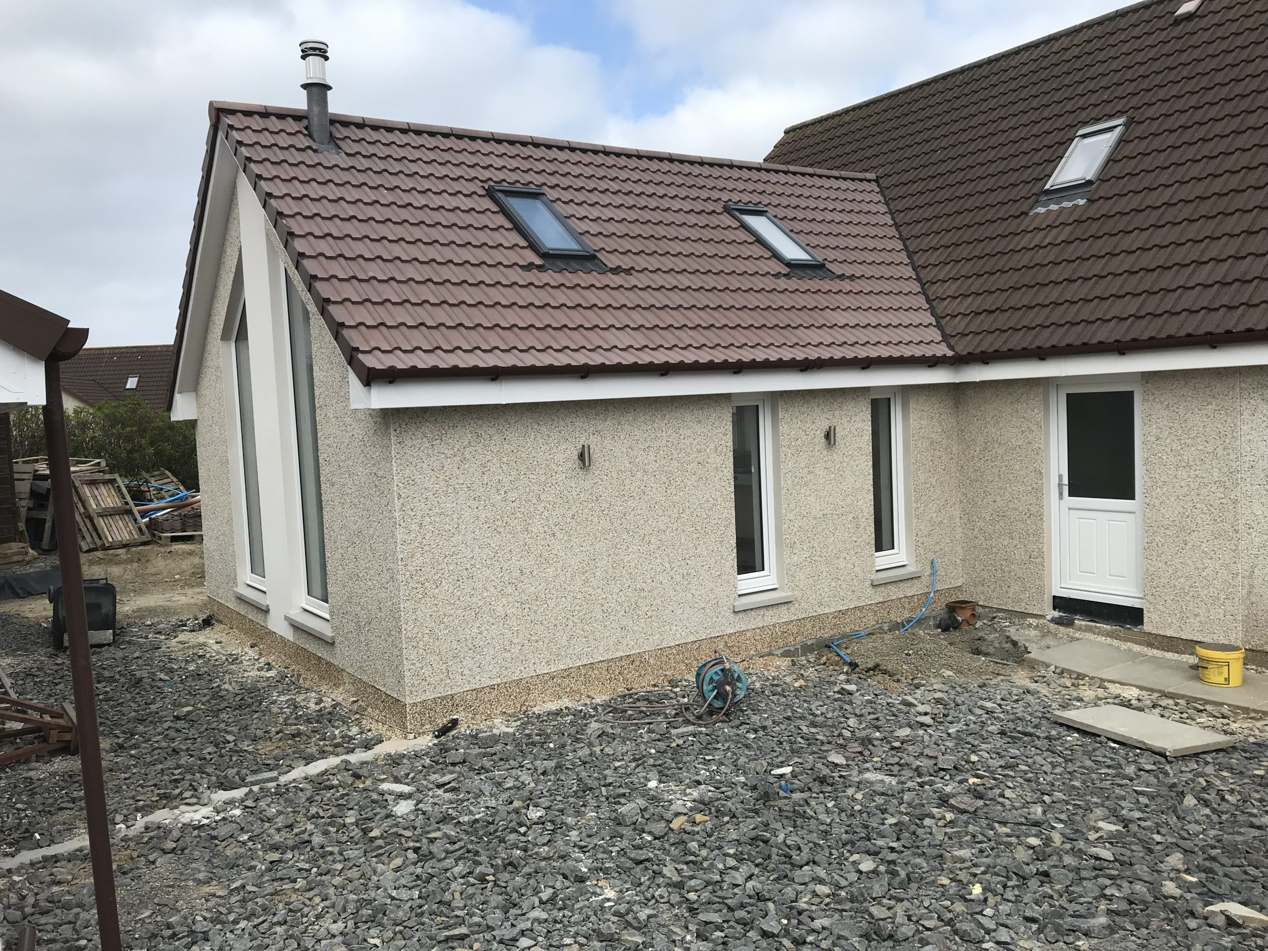 New Extension and Garage