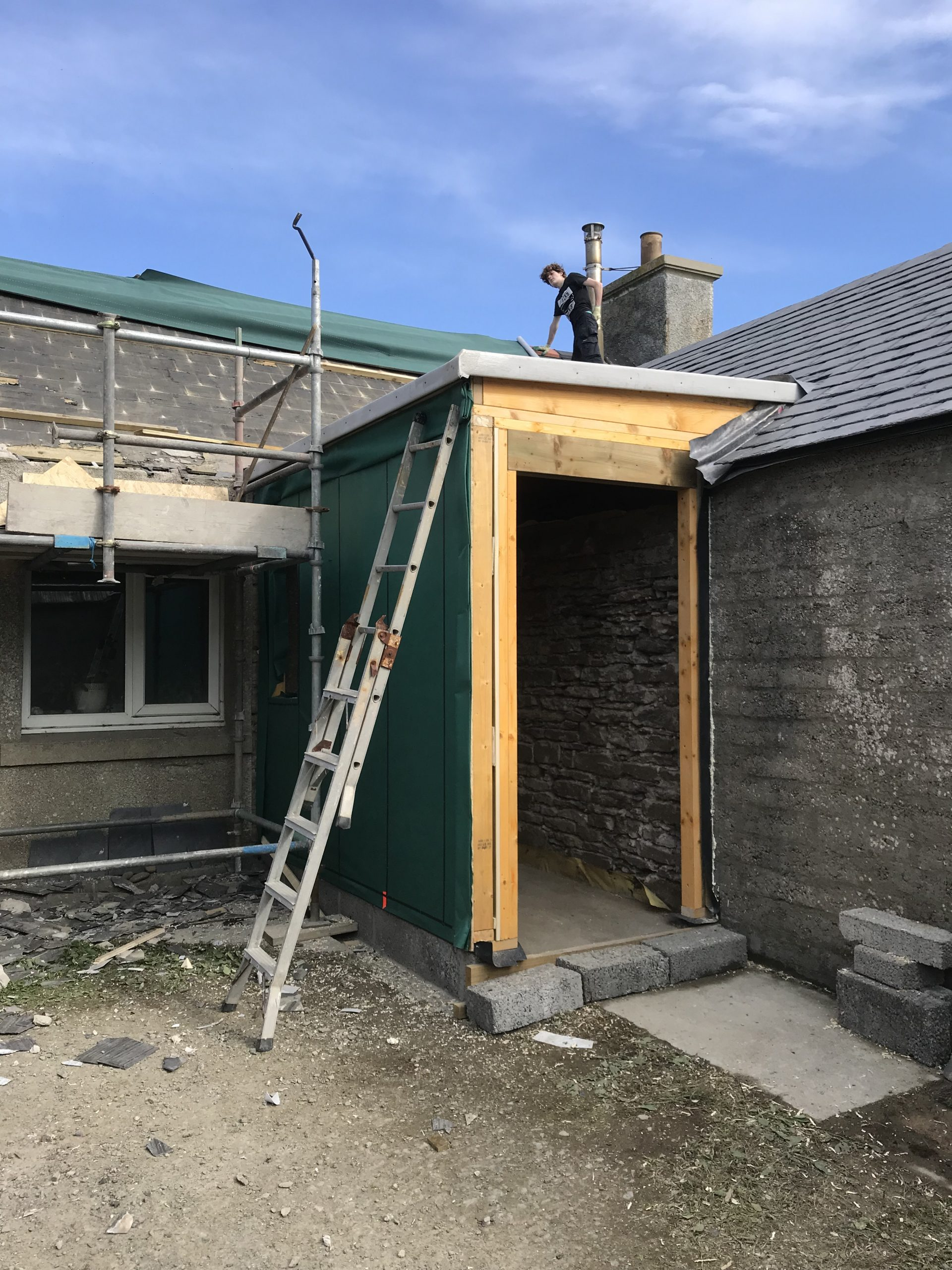 Building new Porch .