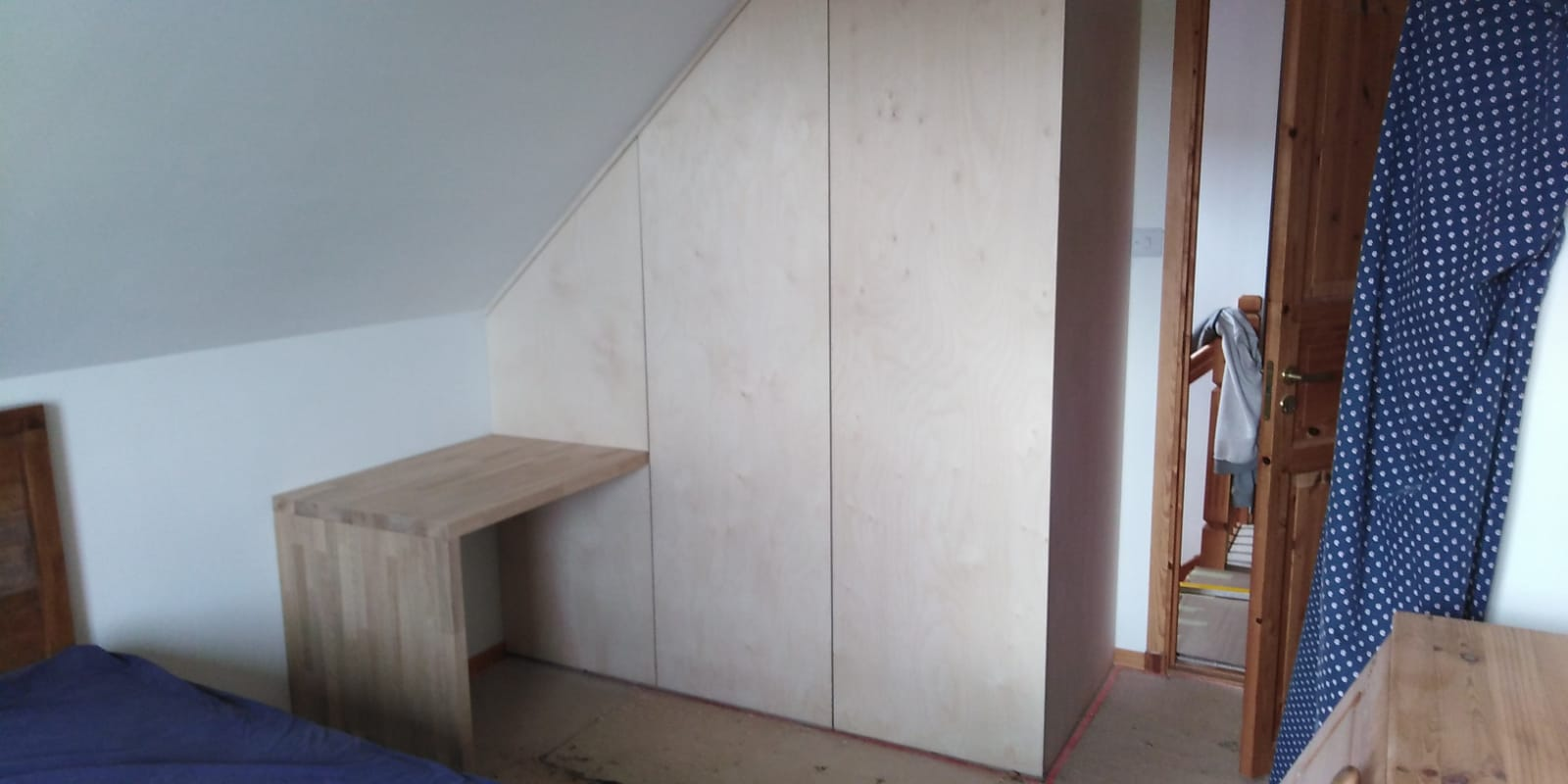 Birch Ply wardrobe